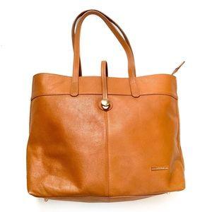 🌸🌵🌼Stella & Max   Cognac Leather Tote